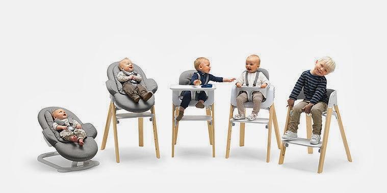 Stokke Steps-Stokke Tripp Trapp-multifunctionele kinderstoel-kinderstoel voor baby