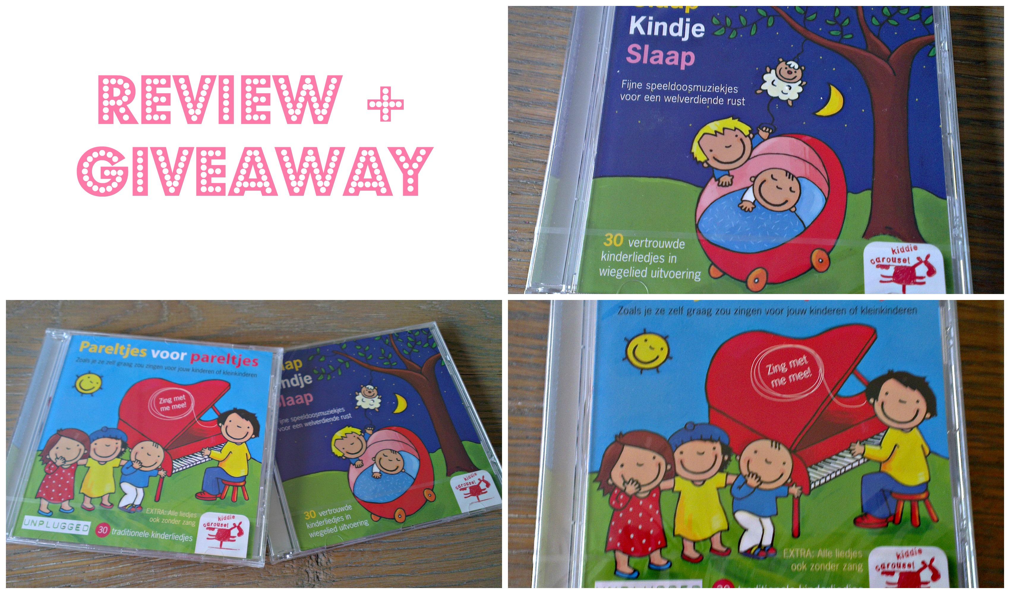 Mommy-Monday-Giveaway-win-cd-Review-Slaap-kindje-Slaap-Pareltjes-voor-Pareltjes-kiddie-Carousel-GoodGirlsCompany-winactie