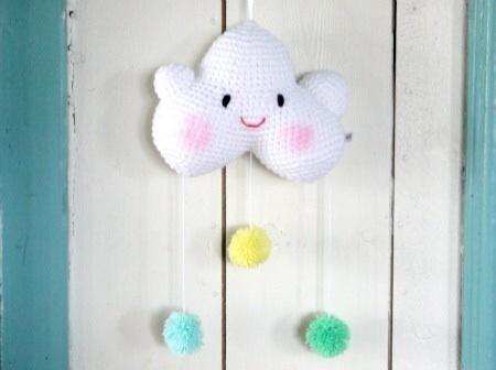 Roozje-blije-babywolkje-lifestyle-accessoires voor babykamer-mintgroen-voor-babykamer