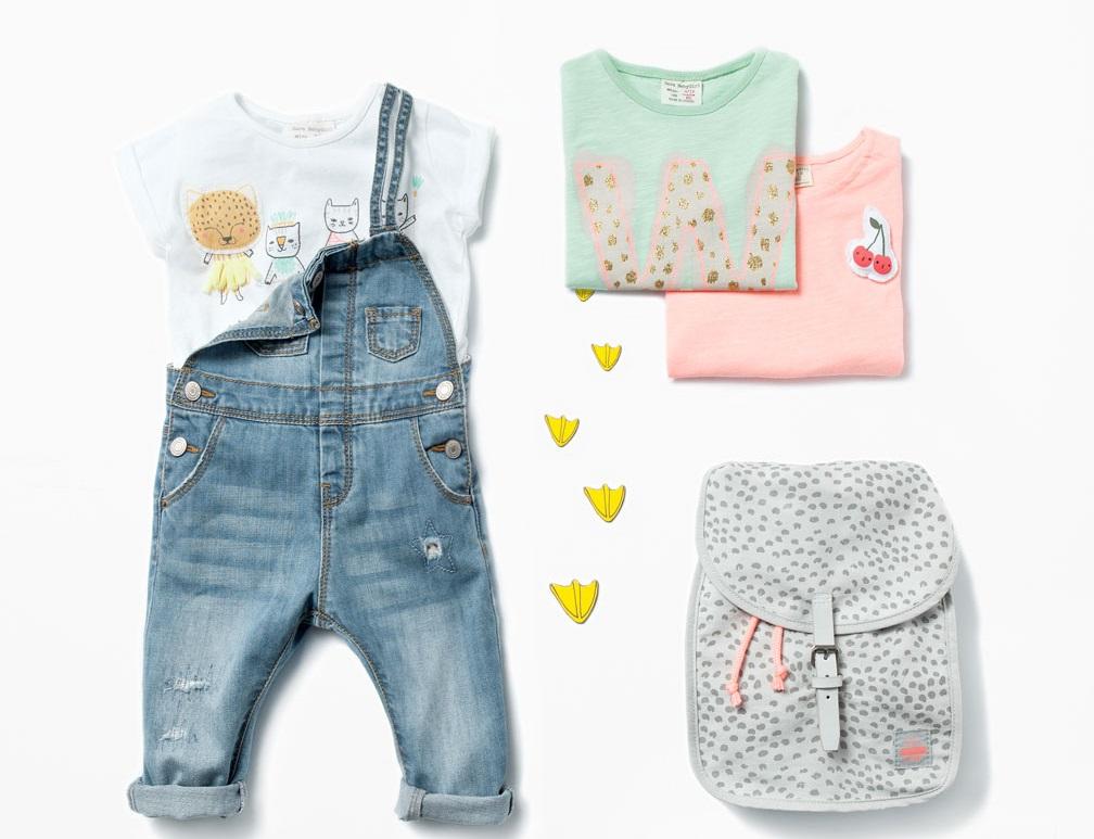 Zara Babymeisjes zomercollectie 2015_ tuinbroek met bretels
