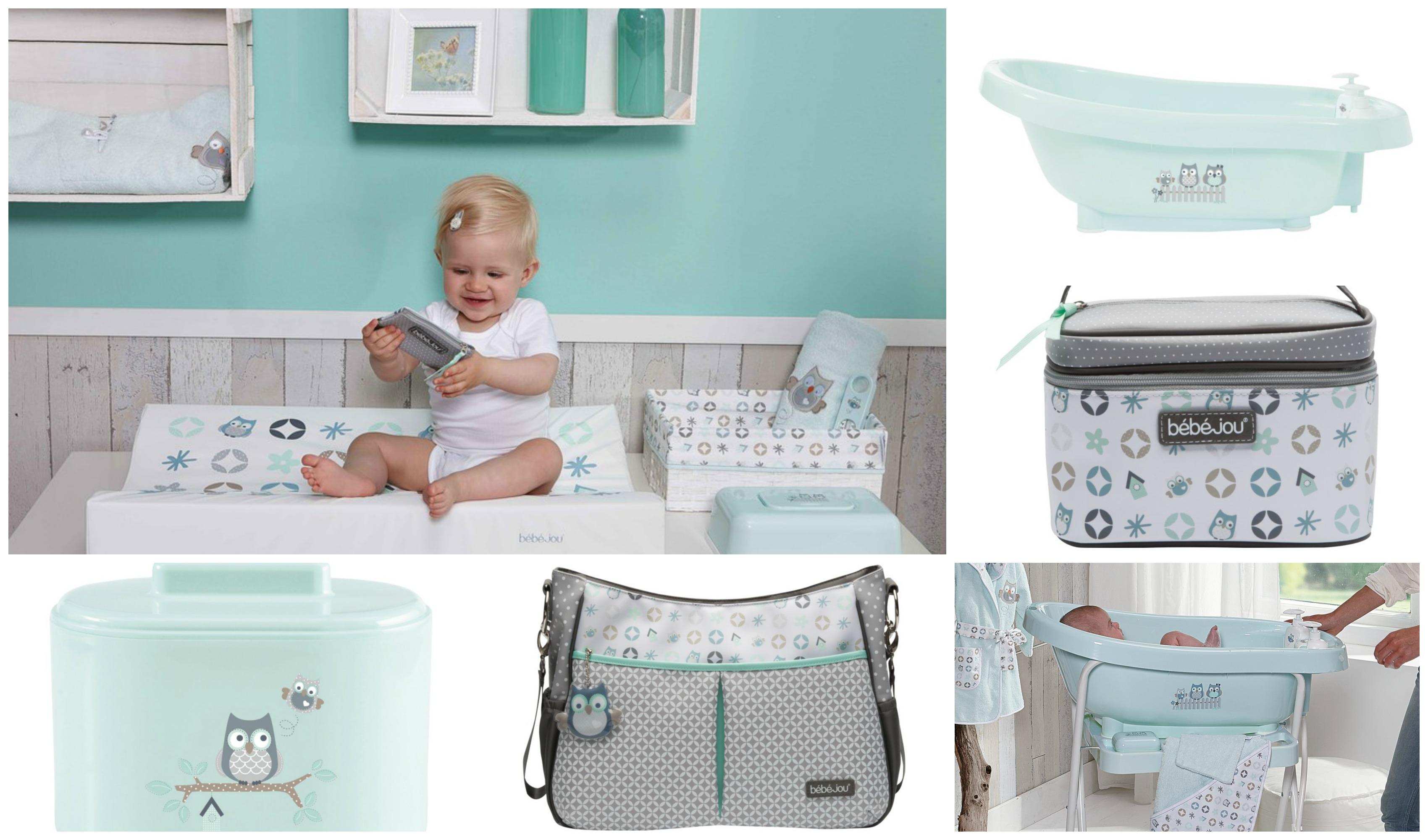 Babykamer Gordijnen Grijs : ... -in-mintgroen-voor-de-babykamer-mint ...