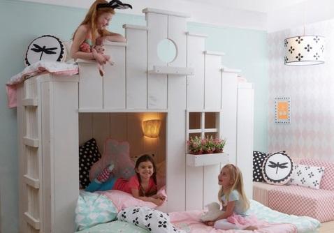 Het vogelhuisbed van saartje prum goodgirlscompany - Slaapkamer van een meisje ...