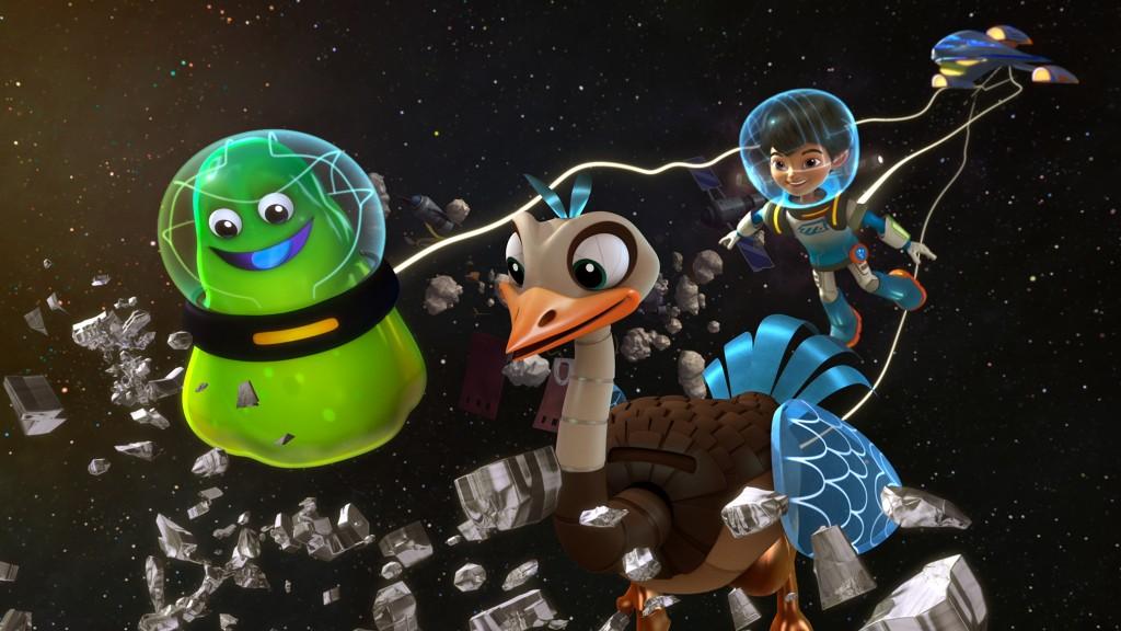 Tv programma voor kinderen op zaterdagochtend-Disney-GoodGirlsCompany-Miles from Morgen