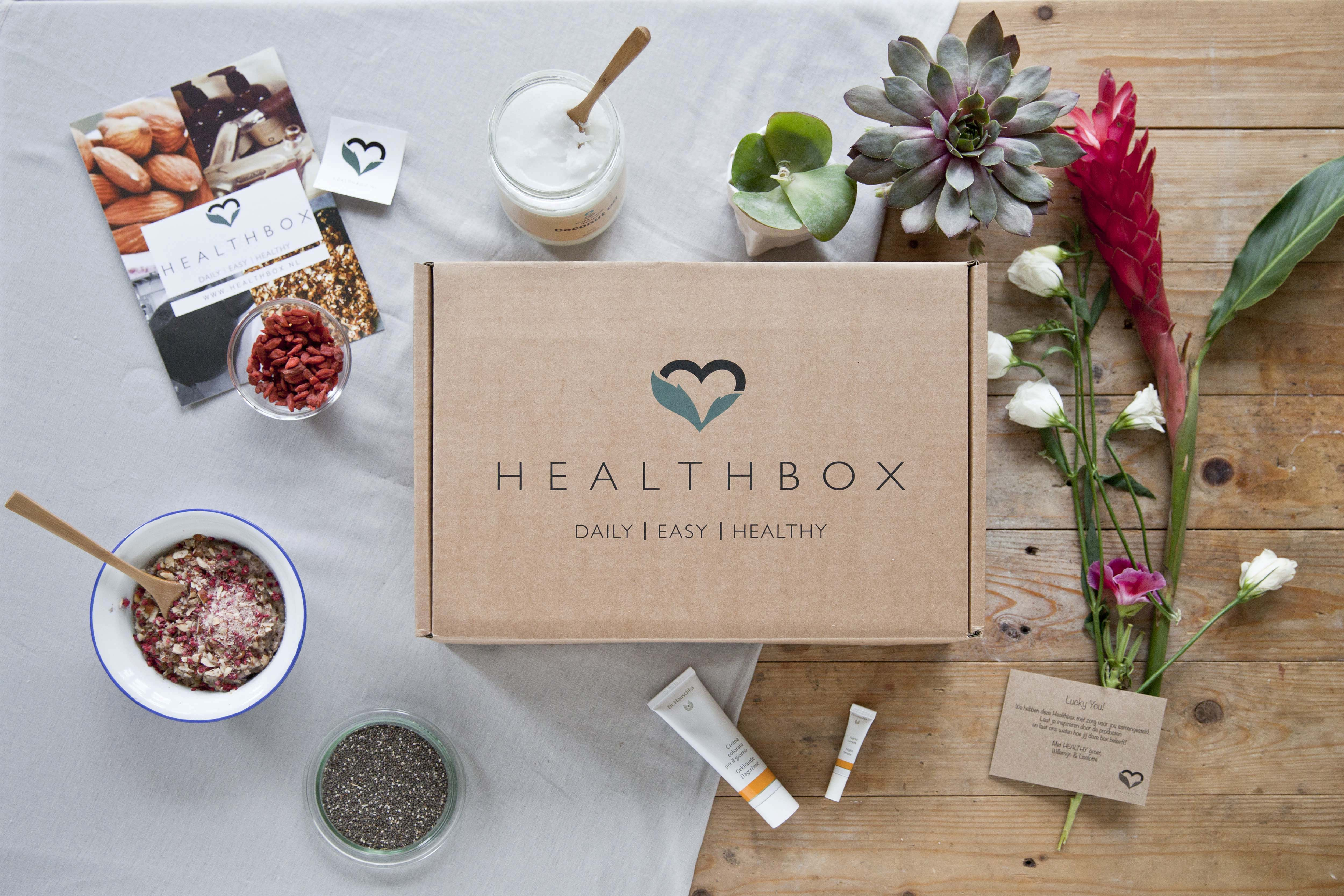 Healthbox-Health freaks Liselotte Wannijn en Willemijn Kornelis