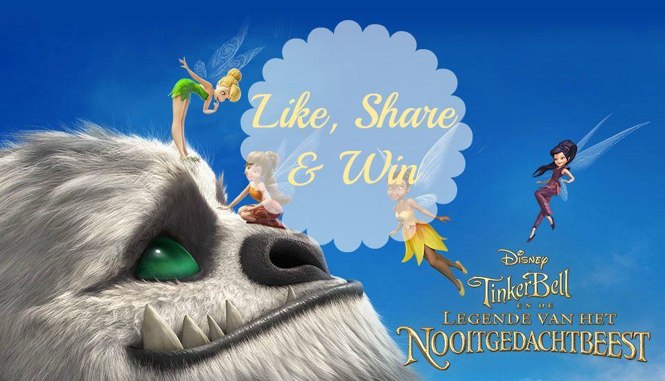 Tinkerbell en de legende van het Nooitgedachtbeest-GoodGirlsCompany-win de DVD Tinkerbell en de legende van het Nooitgedachtbeest