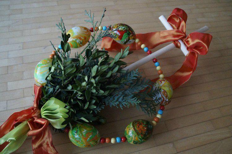 palmpaasstok maken betekenis