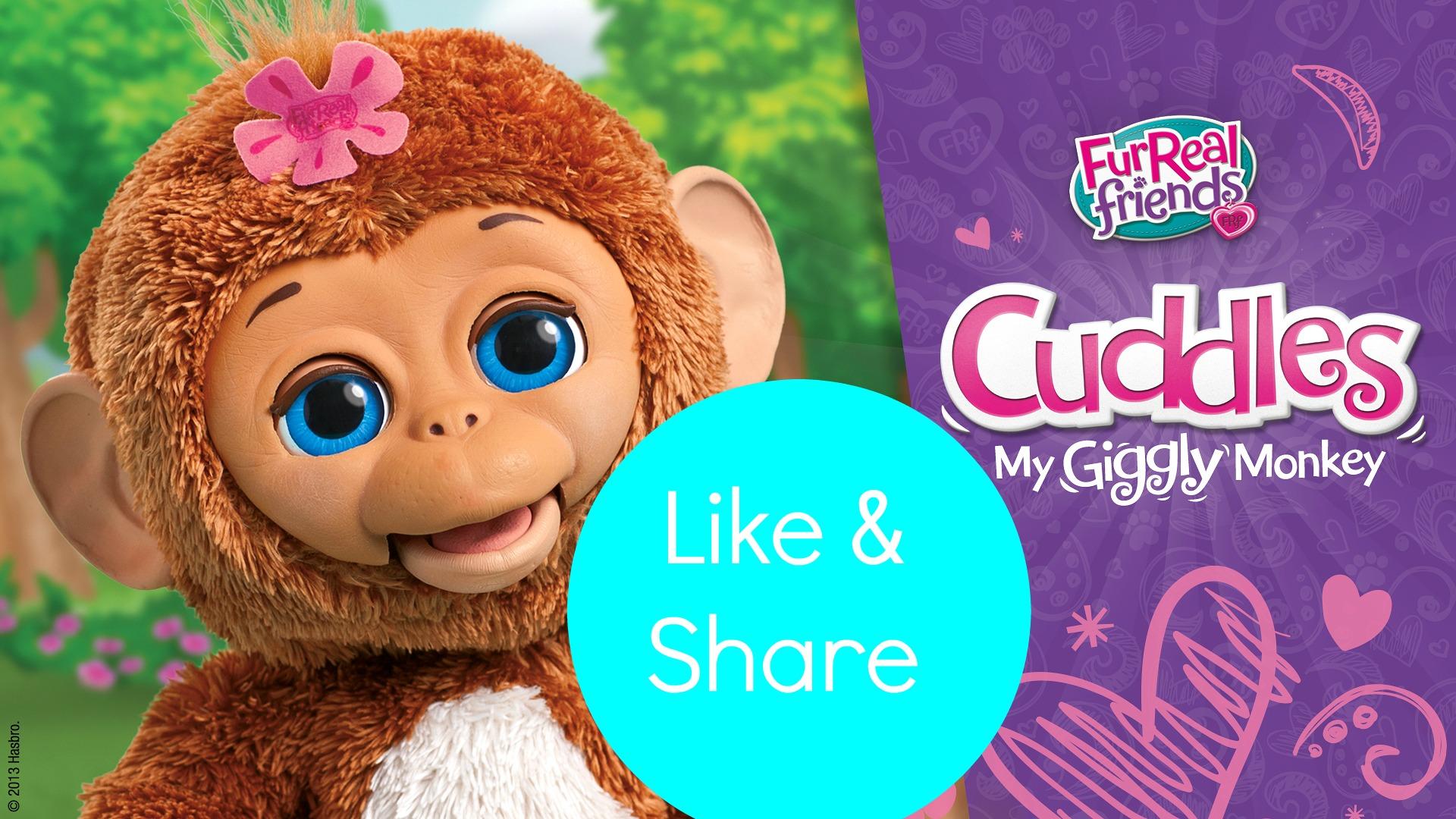 Baby Cuddles-FurReal Friends aapje Koko-winactie-GoodGirlsCompany