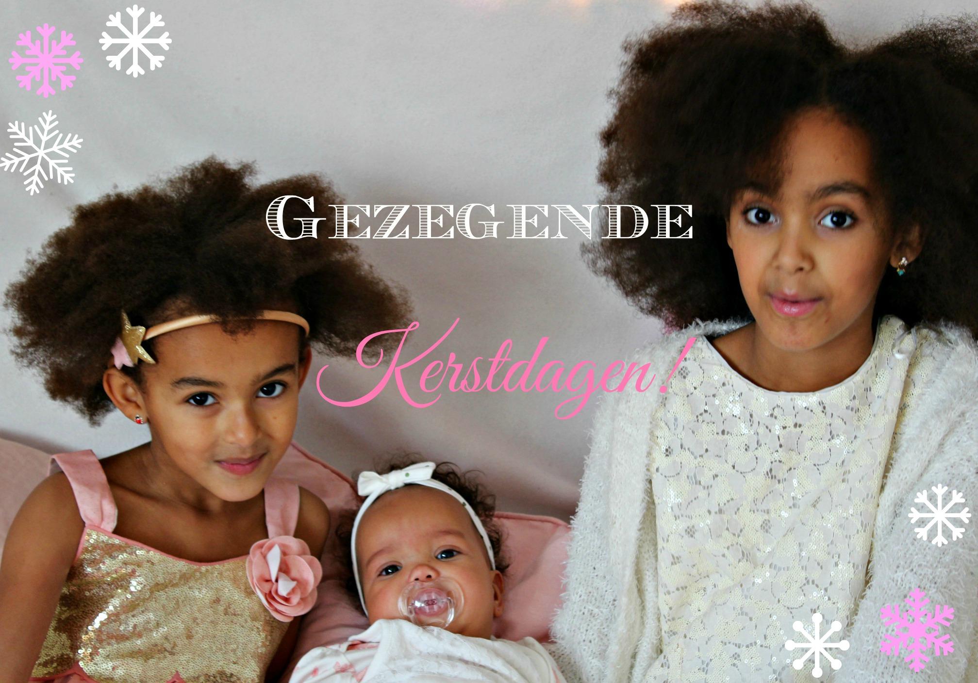 Kerstgroet-Gezegende Kerstdagen-Kerst 2015