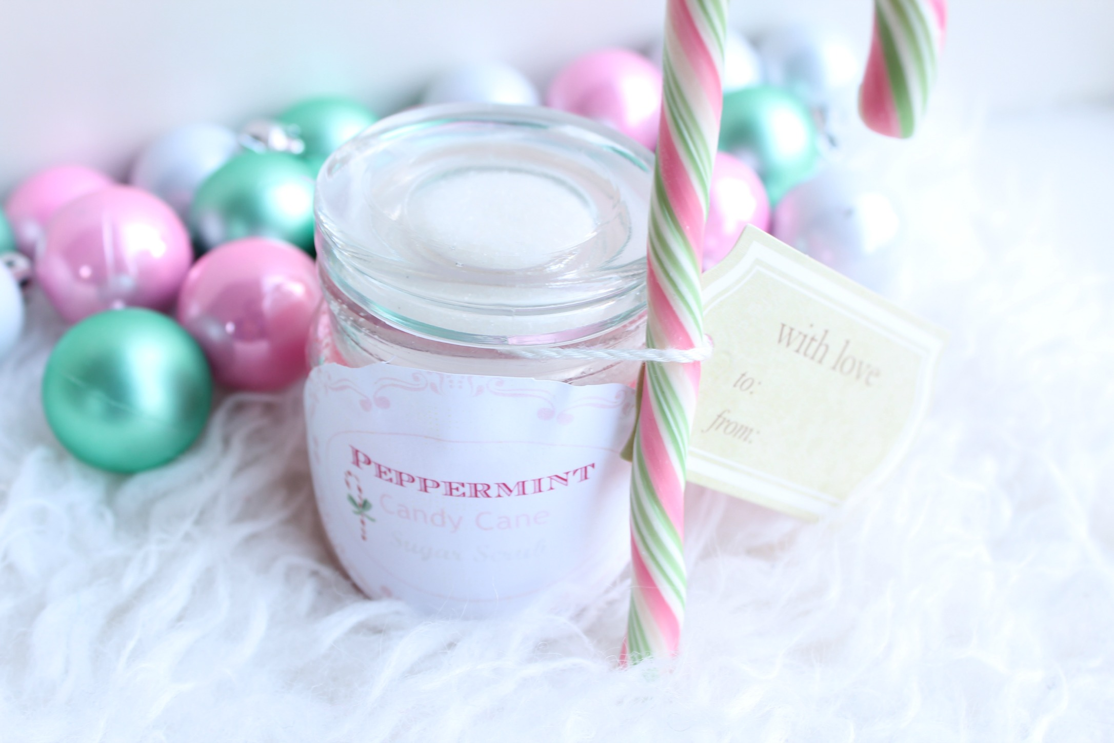 Peppermint Candy Cane Sugar Scrub-GoodGirlsCompany