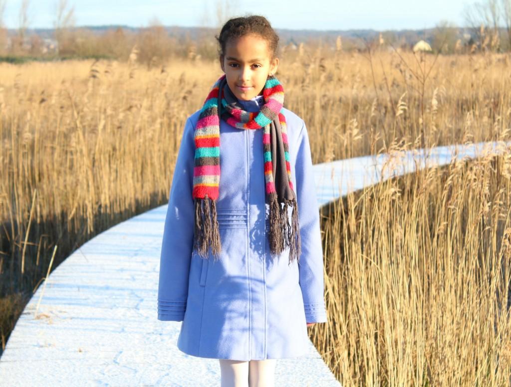 Shoplog VD-GoodGirlsCompany-Mart Visser coat collection-korenbloem blauw