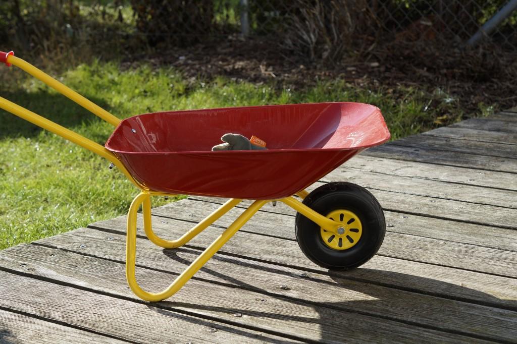 tuinieren met kinderen-moestuin maken