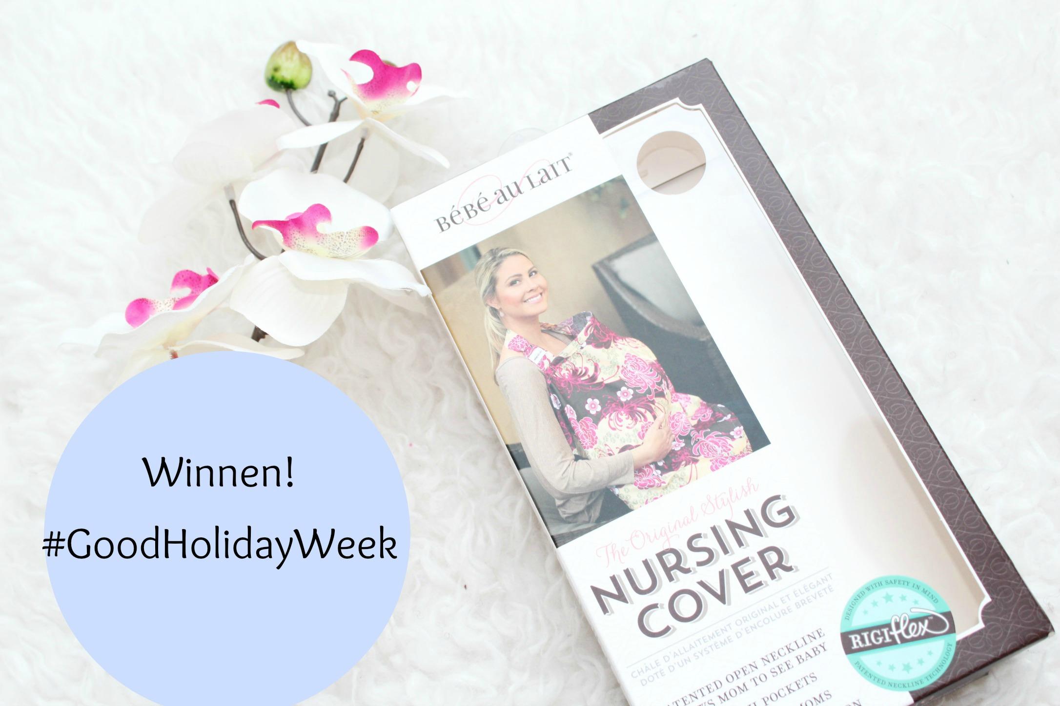Discreet borstvoeding geven in het openbaar-GoodGirlsCompany-Nursing Cover