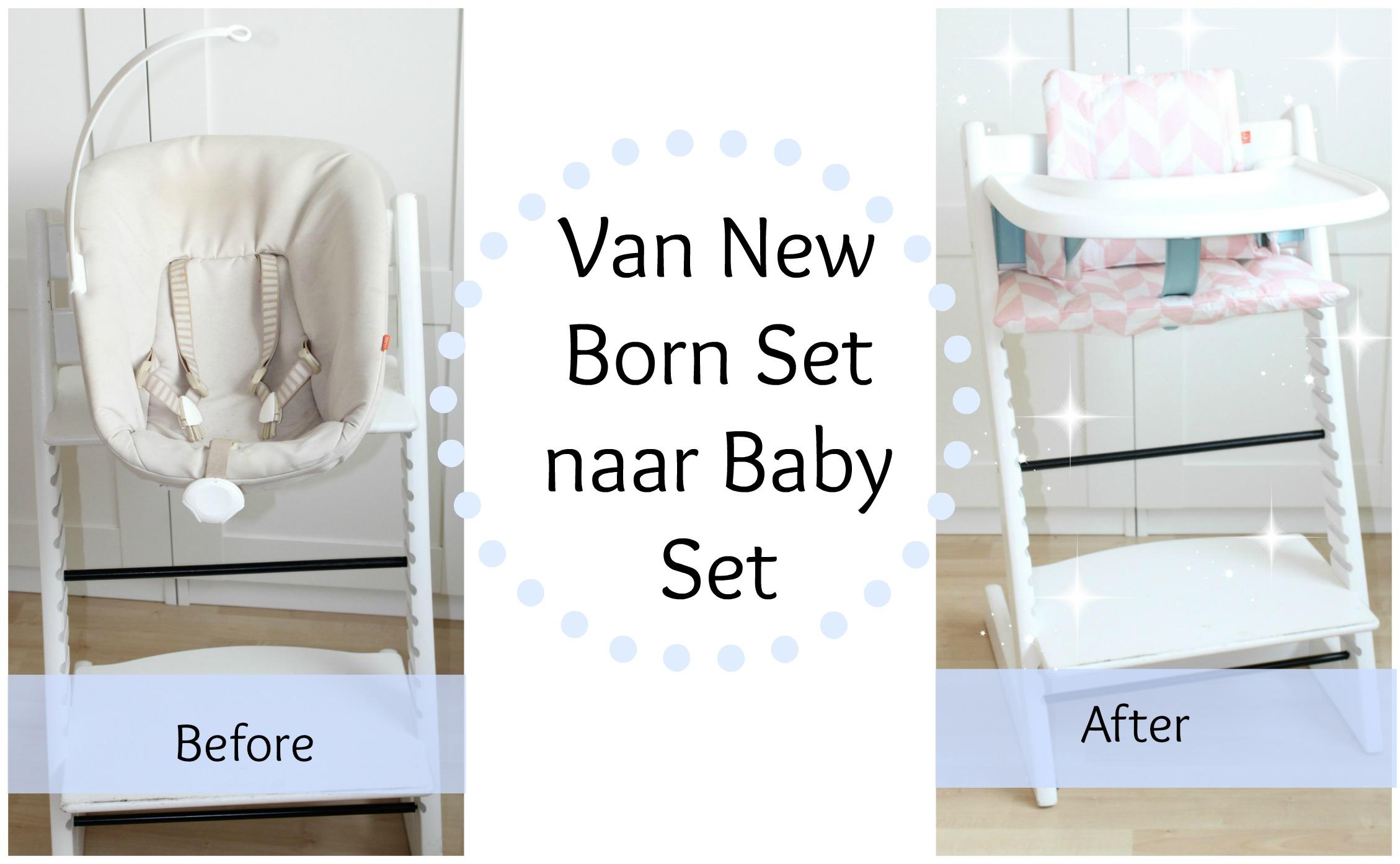 Stokke Kinderstoel Aanbieding.Van Stokke Newborn Set Naar Stokke Tripp Trapp Baby Set