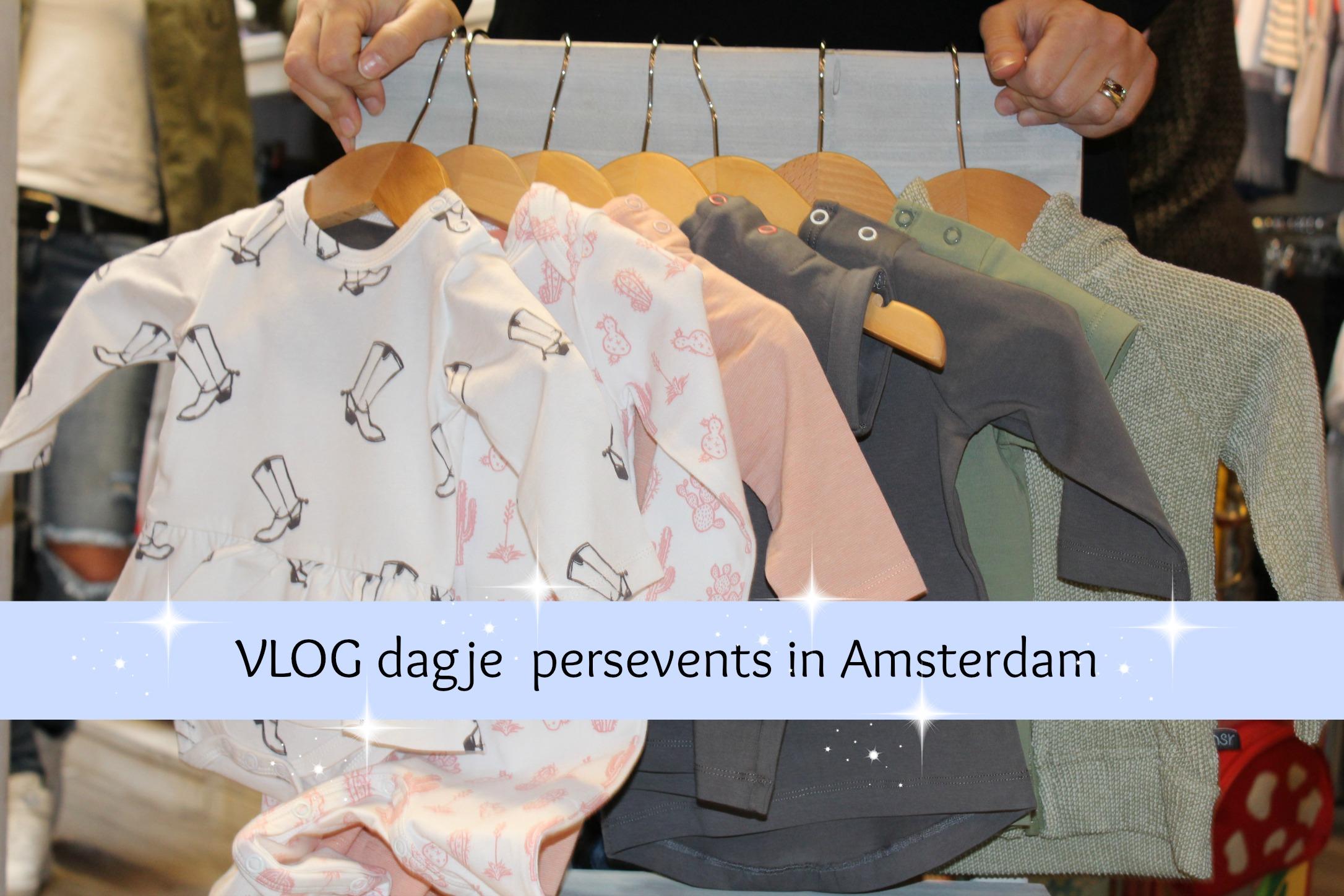 VLOG dagje persevents in Amsterdam