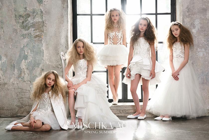 Mischka Aoki Spring Summer 2016-GoodGirlsCompany-Luxe feestjurken voor meisjes