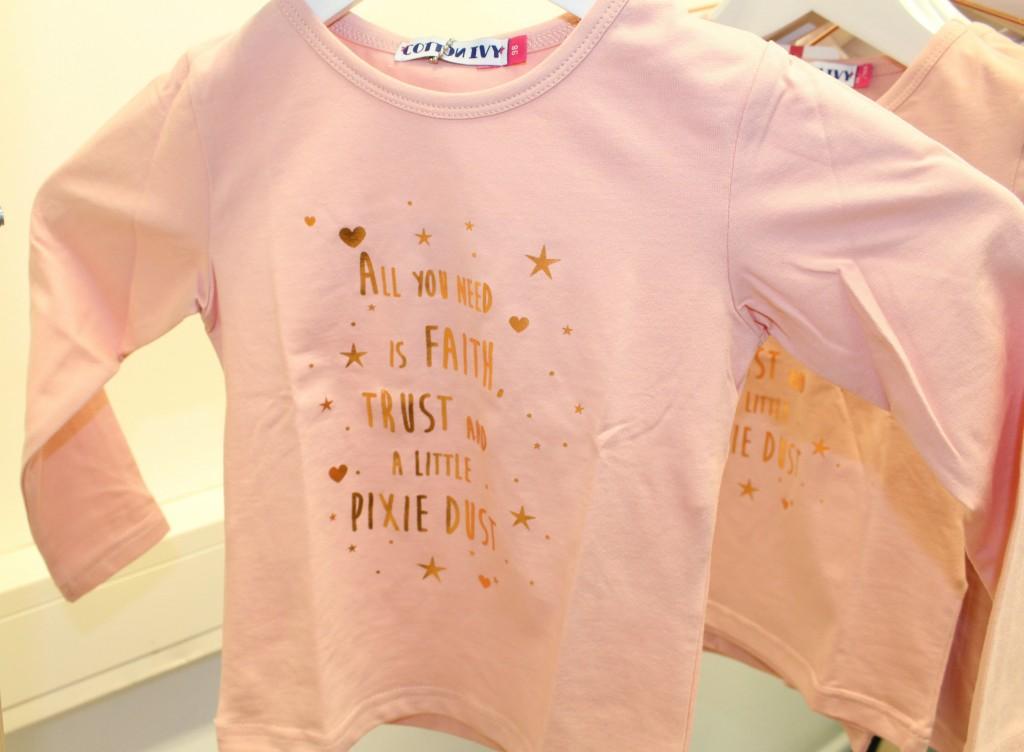 All you need is faith Tee-GoodGirlsCompany-T-shirt met goud voor kinderen-Cotton Ivy