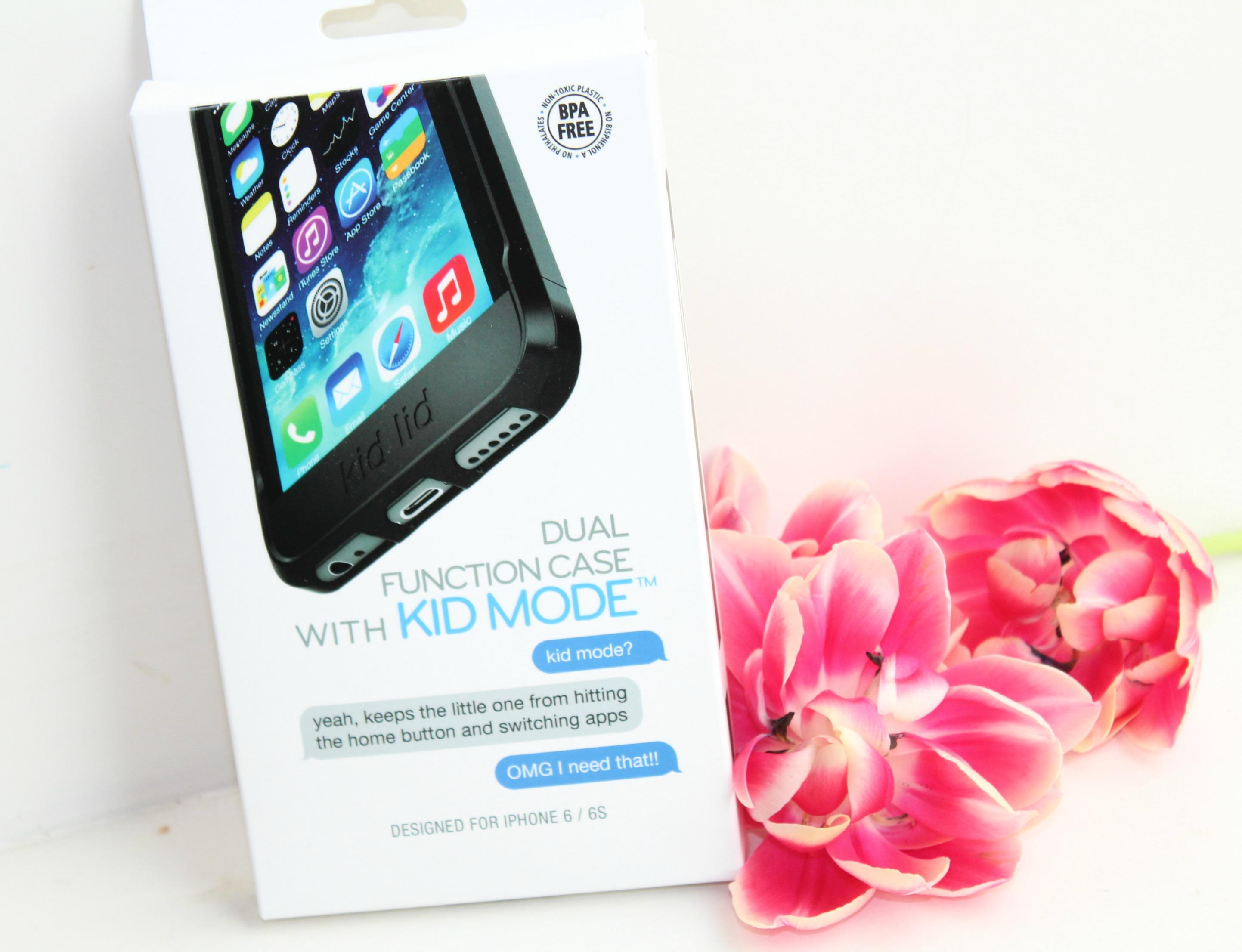 Dual function iphone Case-GoodGirlsCompany-kinderslot voor je iPhone-handige baby gadgets