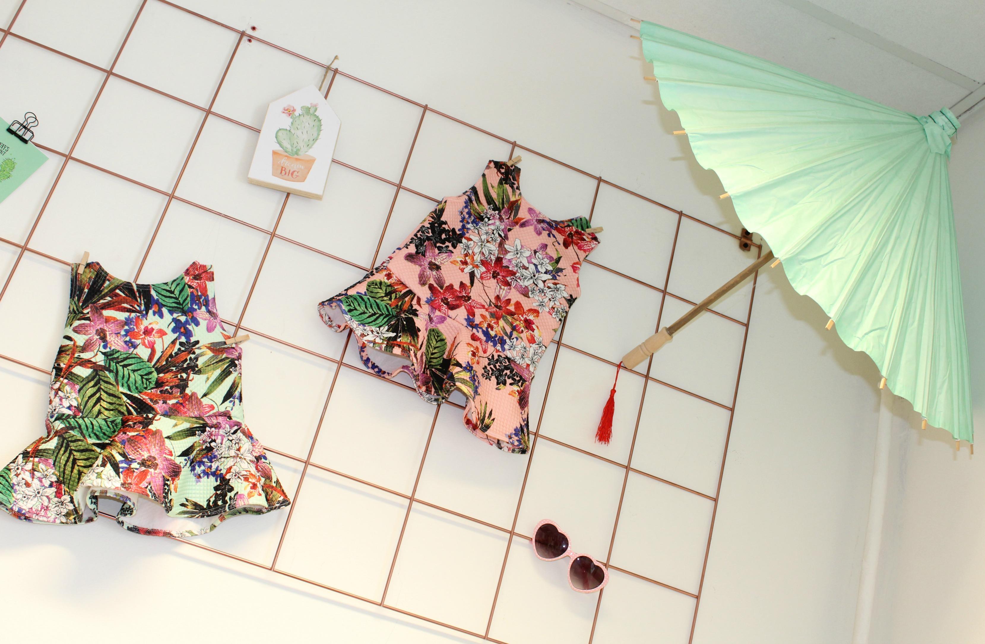 Peplum voor meisjes-GoodGirlsCompany-Cotton Ivy