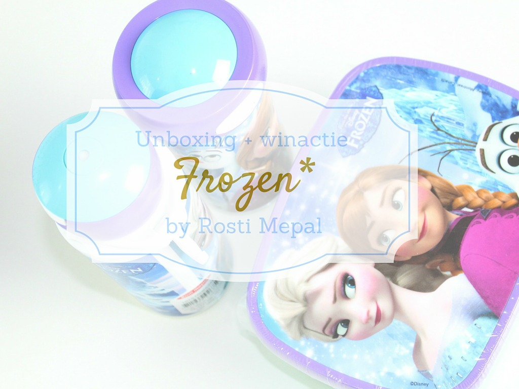Winactie Frozen Sisters Forever by Rosti Mepal