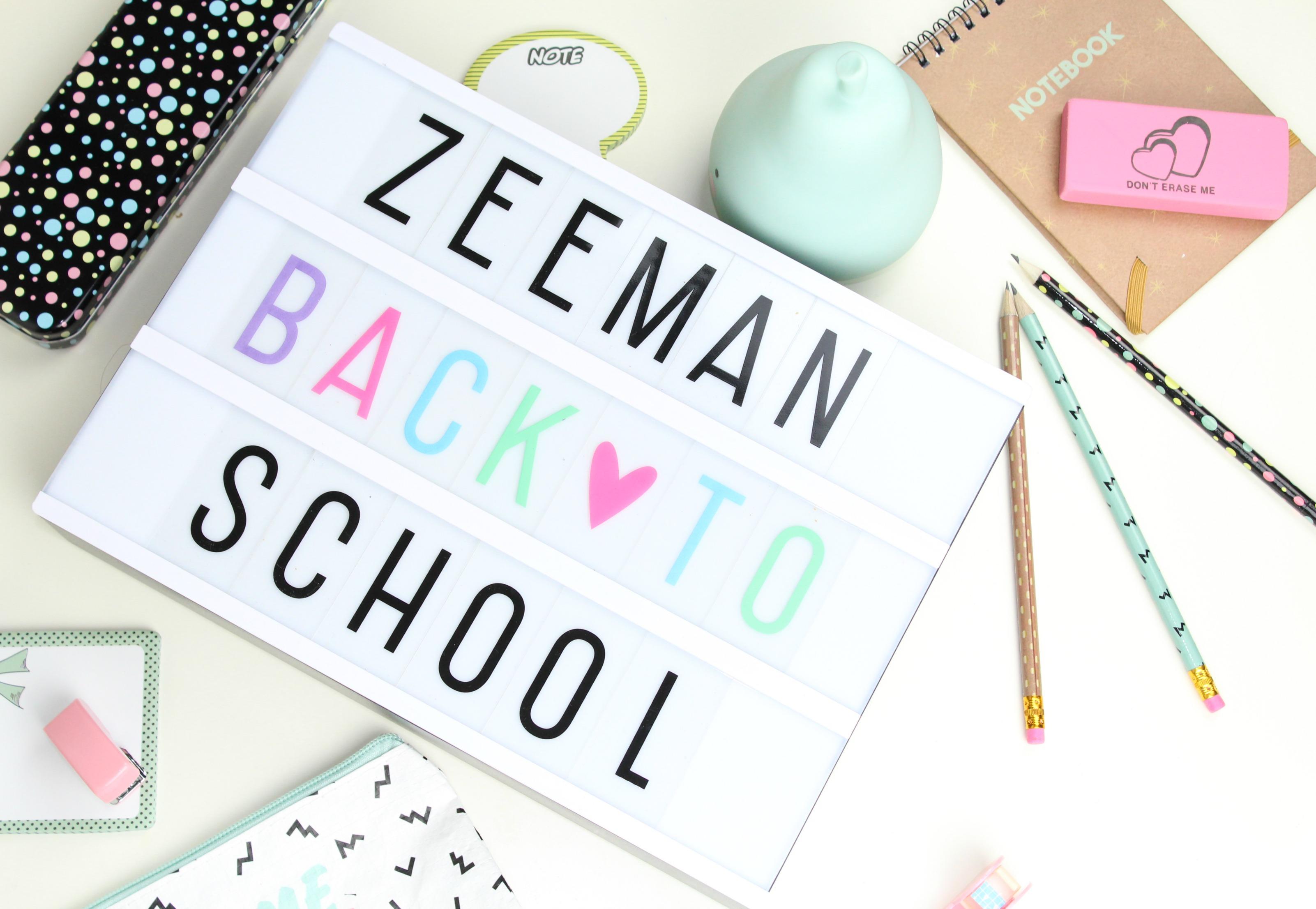 Zeeman back to school shoplog-GoodGirlsCompany