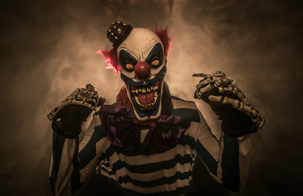 killer clown of horror clown