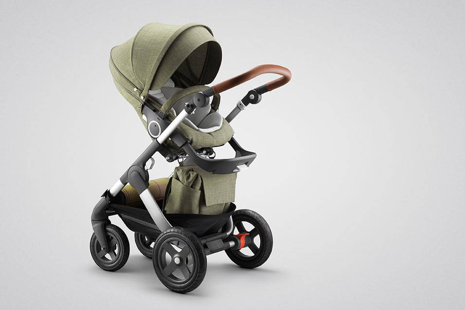 Stokke Trailz Exclusive Edition Nordic Green