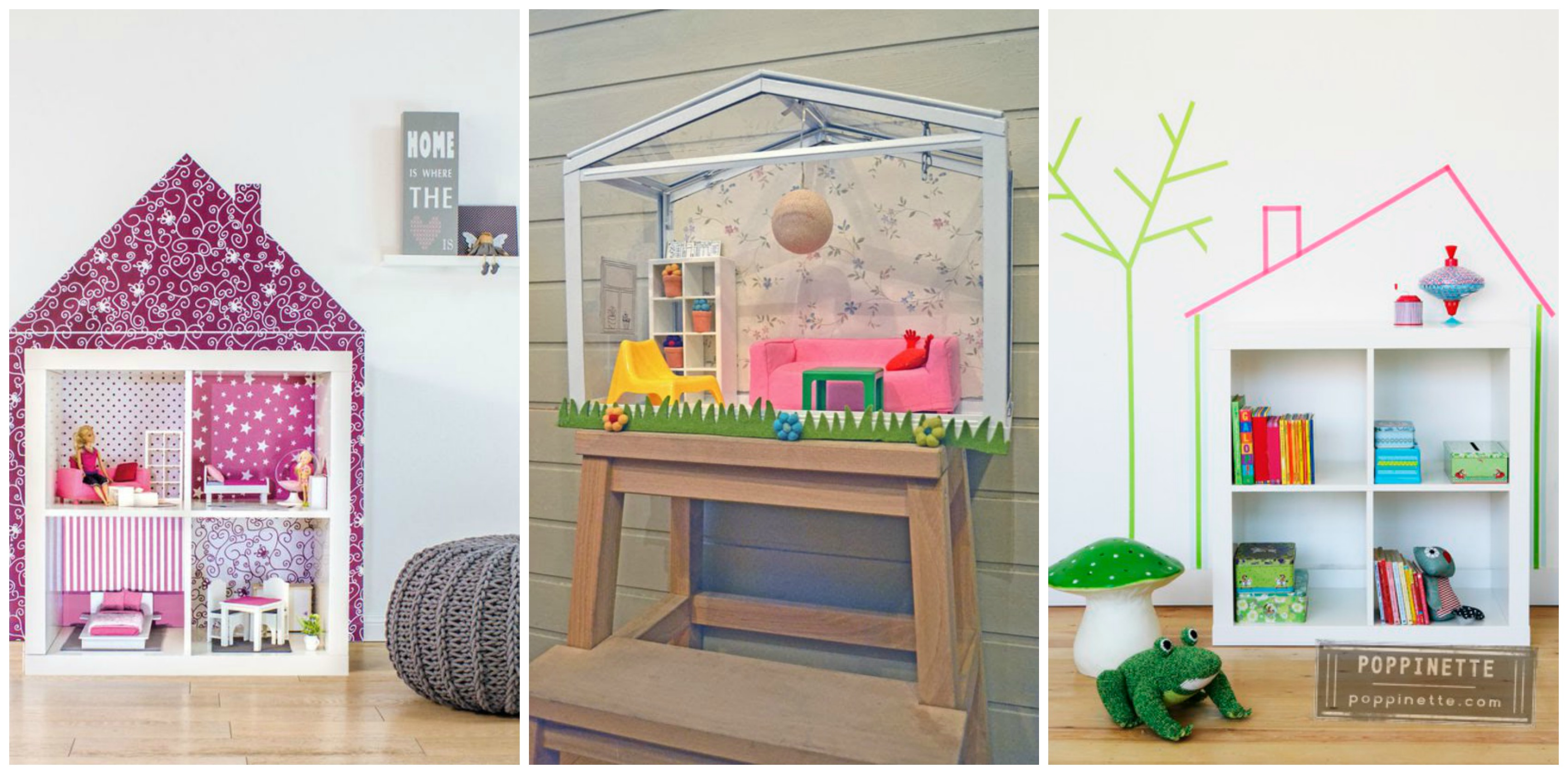 De 10 beste ikea poppenhuis hacks van kallax billy en hensvik - Maken van zijn boekenkast ...