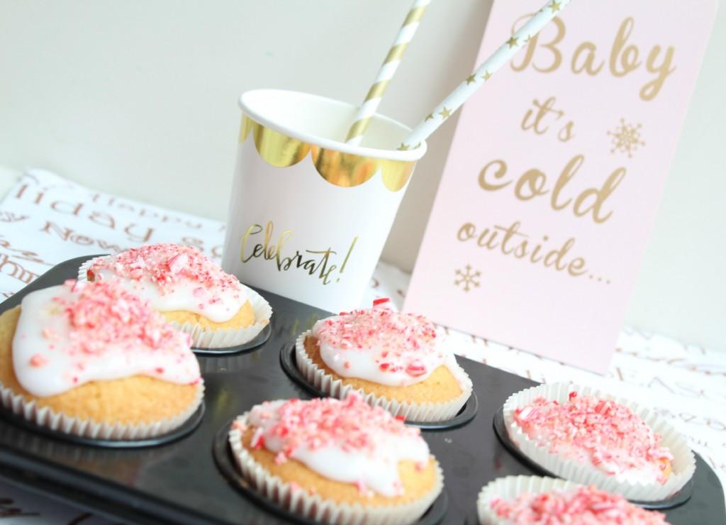 Candy Cane Cupcakes-GoodGirlsCompany