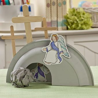 Easter-Craft-He-Is-Risen-Tomb-GoodGirlsCompany