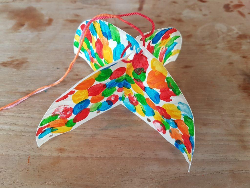 Paraplu maken Knutselen met Sien en Co knutselblog voor Good girls company touw vastmaken