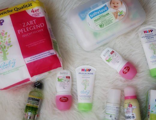 DM shoplog babyproducten shoppen