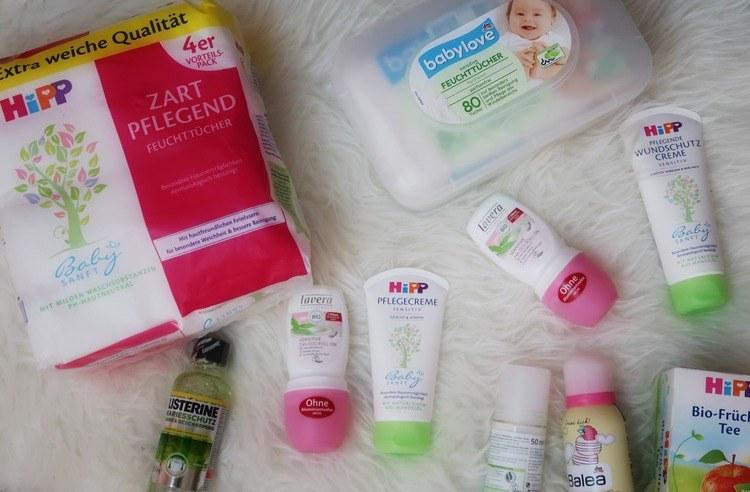DM shoplog babyproducten shoppen