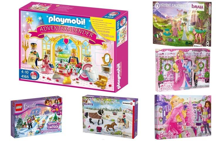 5 x speelgoed adventskalenders
