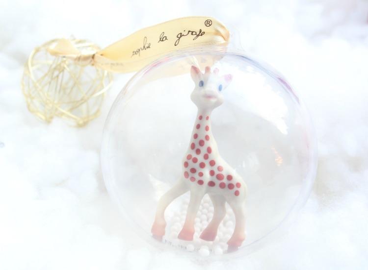 Sophie de giraf 1e kerstbal winnen-GoodGirlsCompany