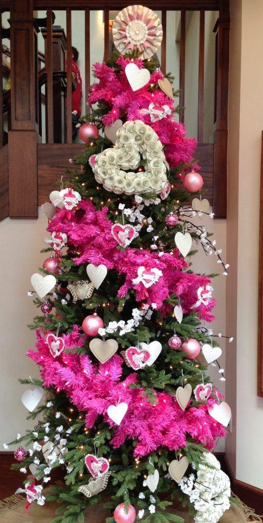 Kerstboom weg-Valentijnsboom