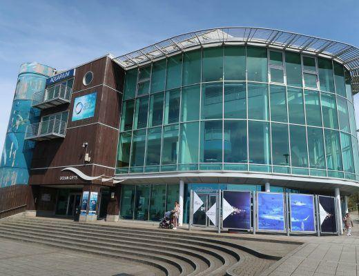 The National Marine Aquarium, het grootste zeeaquarium van Engeland