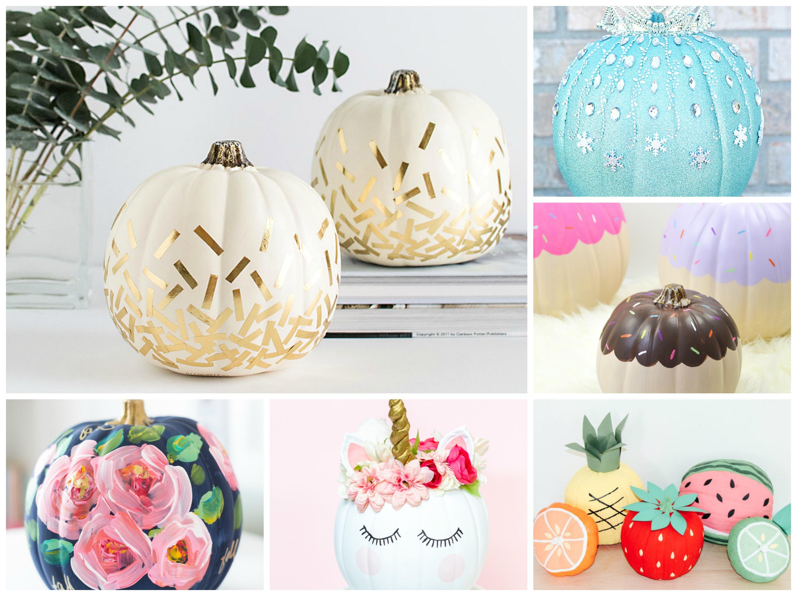Pompoenen versieren_inspiratie_knutselideen herfst_knutselinpiratie Halloween