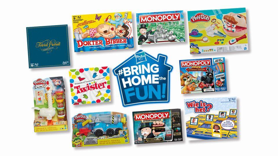Hasbro Gaming Bring Home the fun