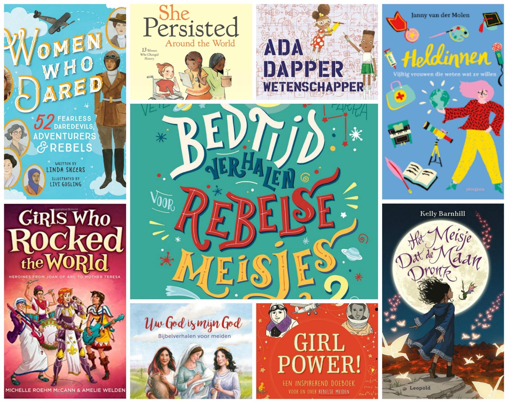 25 Kinderboeken met vrouwelijke rolmodellen