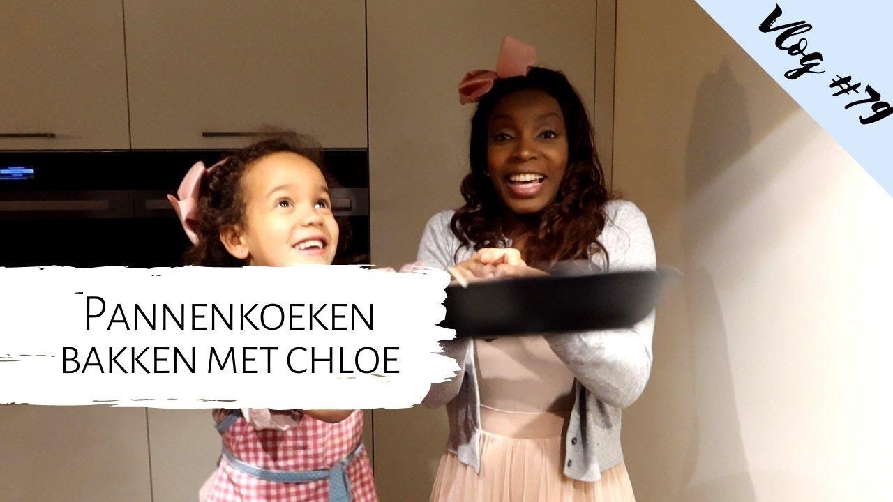 Weekvlog   Pannenkoeken bakken met Chloé