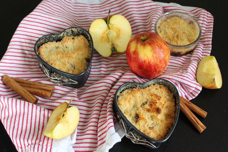 apple crumble maken